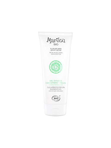 Marilouu Bio Douchegel komkommer Melon, 200 ml tube