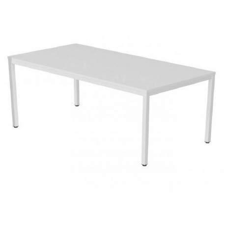 DeskandSit Mop72001 Tavolo da Lavoro 180x80cm bianco