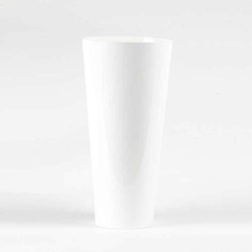 Vase en plastique acrylique conique 35 cm de hauteur
