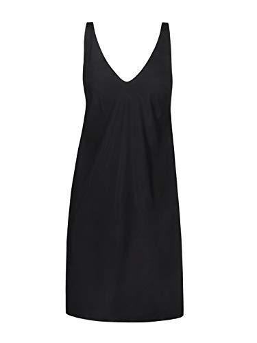 Wolford Damen 52700 Freizeitkleid, Frauen Basic,Sommerkleid,Slipdress,lockere Passform,tiefer Ausschnitt,7005 Black,Medium (M)