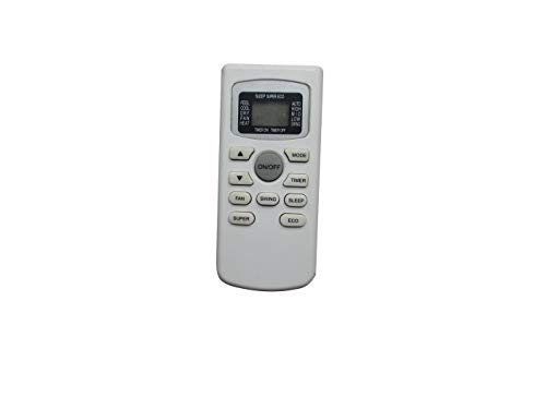 HCDZ Replacement Remote Control for Black Decker GYKQ-34E BPACT10WT BPACT08WT BPACT12HWT BPACT12WT BPACT14HWT BPACT14WT BPACT14H Portable Air Conditioner