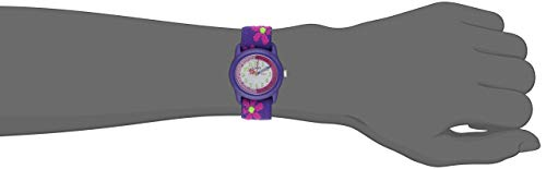 Timex Kids' 89022 Time Teacher Flowers Stretch Band Watch