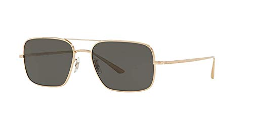 Oliver Peoples Gafas de Sol VICTORY L.A. OV 1246ST WHITE GOLD/MIDNIGHT 54/17/145 unisex