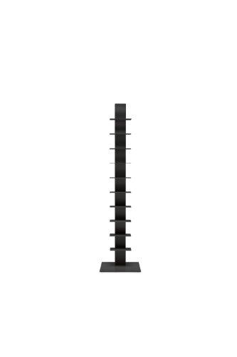 Estantería Sapiens H.152cm (10 estantes) Negro/Antracita -