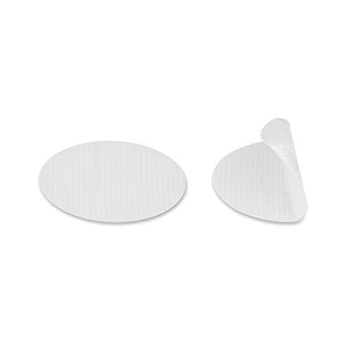 Gewebeklebepunkte Klebepunkte aus Gewebeband | 30 mm rund | Farbe frei wählbar | weiß 100 Stück