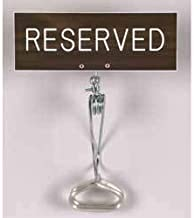 JWG Industries Church Pew Ushering Seating Reserved Sign