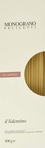 Pastificio Felicetti - Spaghettoni 'Il Valentino' Monograno Senatore Cappelli Bio (12 confezioni x 500g)