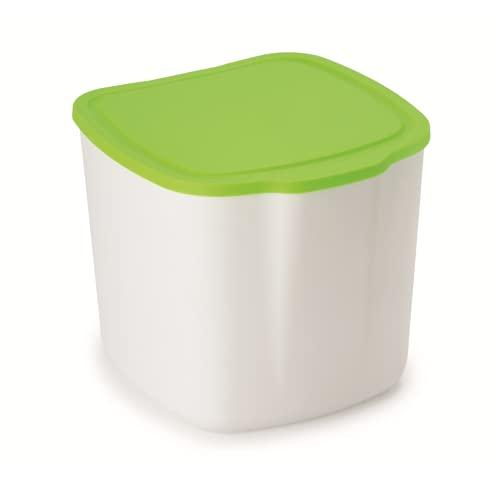 Snips Pattumierina da Cucina 3 Litri 520 PATTUMIERA, Plastica, Bianco