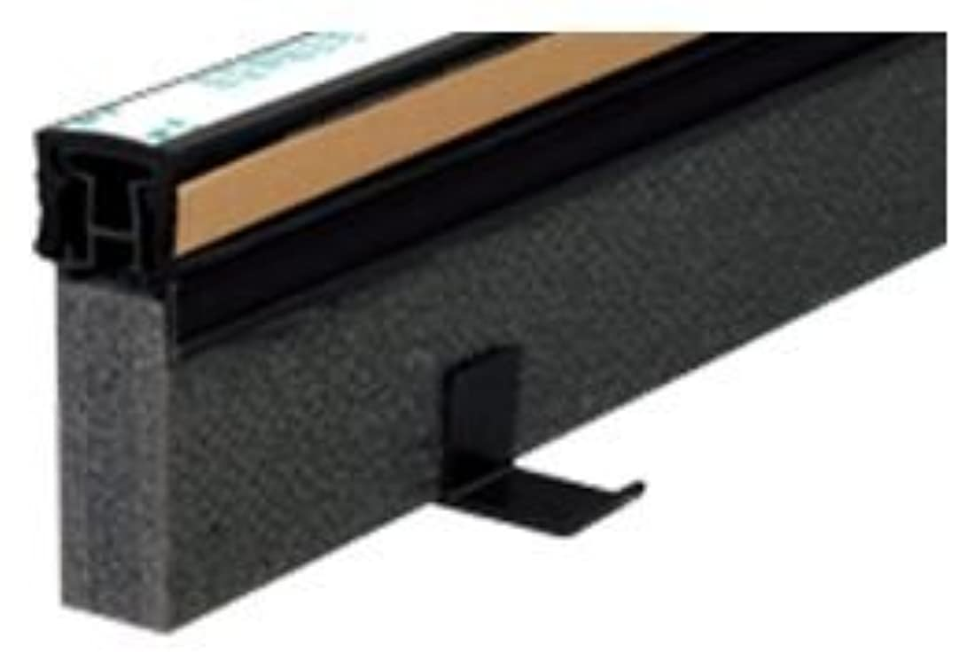 フォロー資源愛情深いタイセイ エキスパンタイ ブラック TE-20×80 キャップ幅 20mmx高さ80mm 1.5m 34本 51m分1ケース