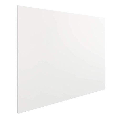 Vivol Eco Magnetic Whiteboard 120 x 180 | Rahmenlos Design | Magnettafel Whiteboardwand Magnetwand | sin marco | 9 tamaños | horizontal y vertical