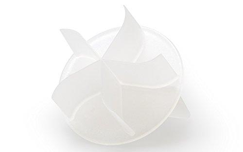 Brötchenstempel Kunststoff Stern Kaiserbrötchen wie vom Bäcker