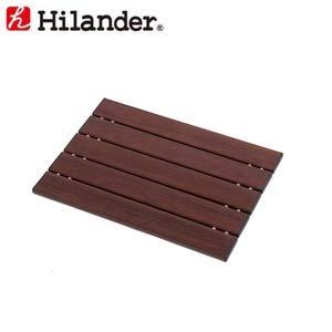 Hilander(ハイランダー) アルミすのこロング木目調