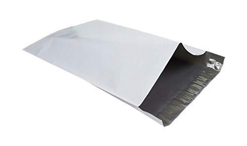 100 x weiße MAILING-Säcke Starke Kunststoffverpackung Postal Polythene Grey Bag Mail-Säcke 190 x 250 mm = 19 x 25 cm