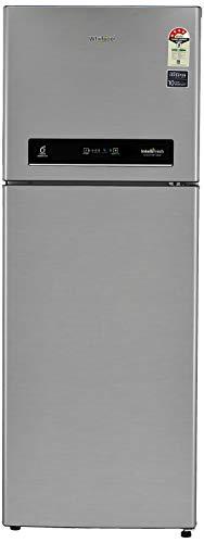 Whirlpool 340 L 4 Star ( 2019 ) Inverter Frost-Free Double-Door Refrigerator (INTELLIFRESH INV CNV 355 ELT 4S, German Steel, Convertible)