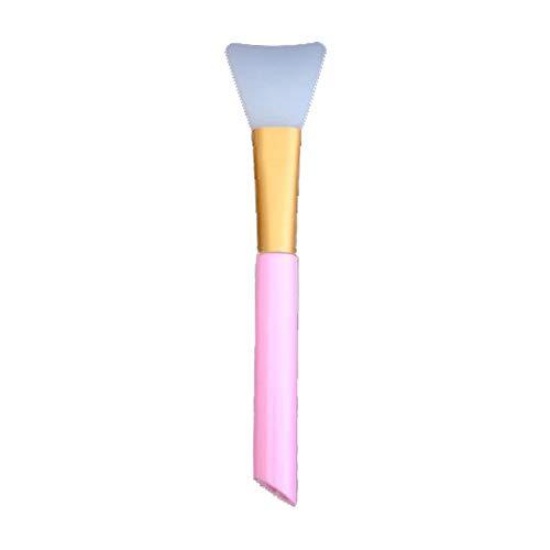 Beashine siliconen gezichtsmasker borstel gezichtsmasker cosmetische schrapers gezicht applicator borstels voor het aanbrengen van oogmasker, serum of doe-het-zelf make-up gereedschap met transparante tas Stijl 1