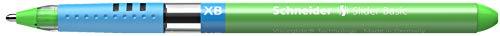 Schneider Slider Basic XB Ballpoint Pen, Light Green, Box of 10 Pens (151211) Photo #5