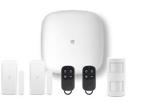 KIT ALARMA CHUANGO H4 PLUS WIFI / GSM