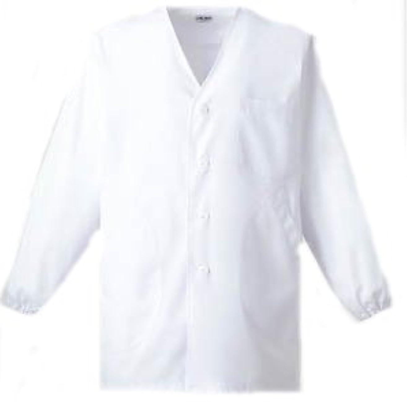 北評価可能期限切れ男子衿なし白衣 長袖<C101>