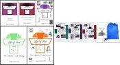 Life of Fred Complete 8-vol Middle School SET (Kidneys through Pre-Algebra 2) Homeschool Kit in a Bag