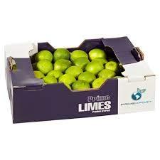 Limetten frisch 3 kg Karton