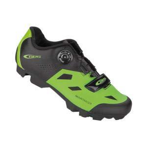 GES Zapatillas MTB Mountracer Z210 Negro-Verde - Talla: 45