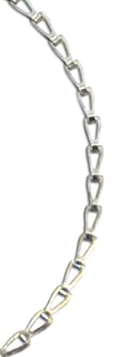 Koch 781606 No.35 by 100-Feet Sash Chain, Zinc Plated