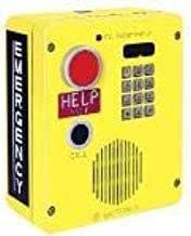 GAI-Tronics - 394AL-003 - Emergency Telephone Single-Button Auto-Dial with CALL Pushbutton and Keypad Surface-Mount Rugged Cast-Aluminum Enclosure with Extreme Cold Weather Option (to -40 C) 120V ac