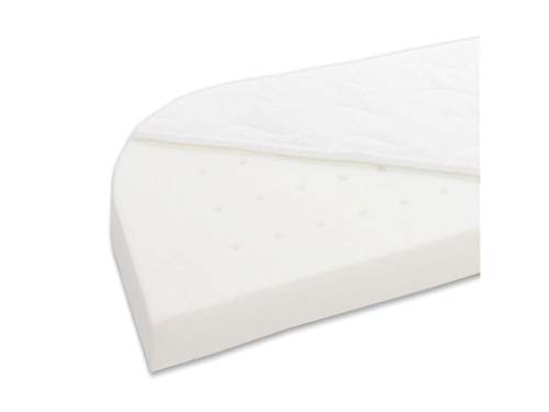 Babybay Mattress Klima Extra Airy Suitable for Model Original, Tessuto, Bianco, passend für Modell