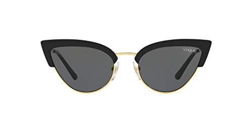 Vogue Eyewear 0VO5212S Occhiali da Sole, Nero (Black/Gold), 55 Donna