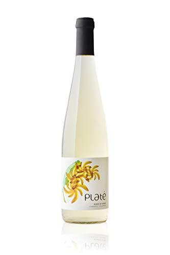 Vino de plátano PLATÉ Semiseco 75 cl. Producto Islas Canarias.