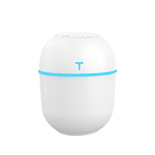 200ml LED Air Diffuser Purifier Lonizer Atomizer Humidifier Air Freshener for Home Creative (White)