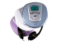 Memorex MPD8610-07 Personal CD MP3 Player with Backlit LCD Screen (Ice Purple)