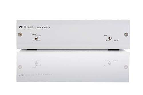 Musical Fidelity V90-BLU5 HD Receptor Bluetooth y convertidor Digital/analógico - Plata
