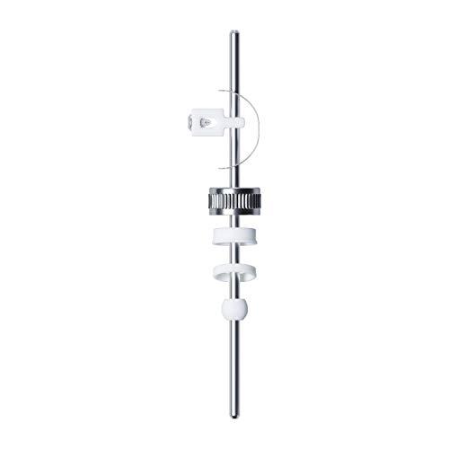 Exzenterstange Ø 5 mm waagerecht 180 mm Zugstange für Waschbecken Ablaufgarnitur/Abflussgarnitur Armatur