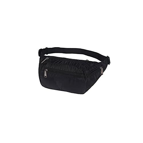 Wzdszuilyb Riñoneras, Paquetes de Cintura, Paquete de Fanny de la Cintura Plegable para Las Mujeres Bolsas de Cintura Impermeable para Mujer Señoras Moda Bolsa de vínculo Bolsas de cofres de Viaje