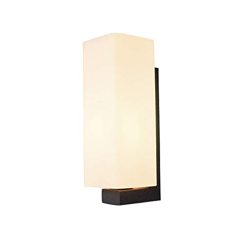 SLV Applique murale Quadray - Éclairage mural intérieur - Lampe murale - Spot de plafond - E27 - 40 W - Noir