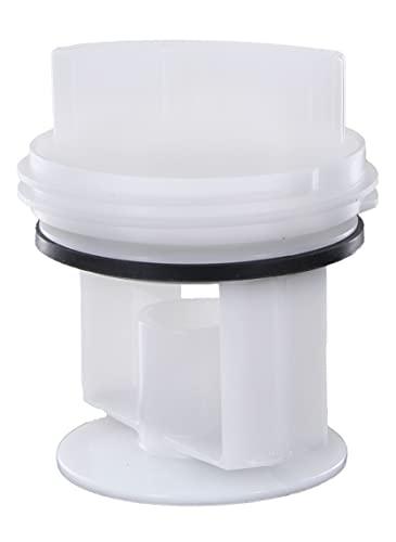 DL-pro Filtro de pelusa adecuado para Bosch Siemens Balay 605010 00605010 602008 647920 Tapa del tapón del tamiz para la lavadora con bomba de desagüe Askoll