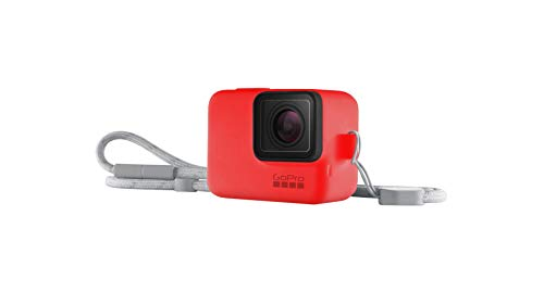 GoPro Hero 5/6/7 Sleeve and Adjustable Lanyard Kit - Firecracker Red