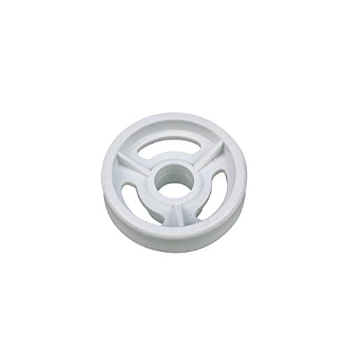 ORIGINAL Indesit Ariston C00056347 Korbrolle Rolle Rad Geschirrkorb Korbrolle für Unterkorb Spülmaschine Geschirrspüler auch Bauknecht Whirlpool 482000022648