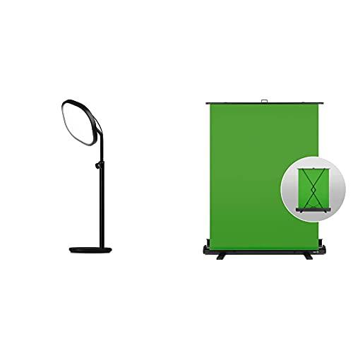 Elgato Key Light Air + Green Screen Bundle