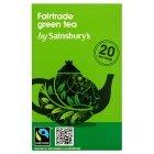 Sainsburys (セインズベリー) フェア トレード ピュア グリーンティー x 20