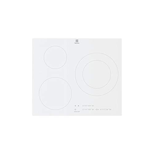 Electrolux - lit60342cw - Table de cuisson à induction 59cm 3 feux 7350w blanc