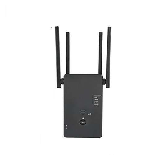 PVDR Amplificador De Señal De Repetidor AC1200, Amplificador De Rango WiFi, Amplificador De Señal De Repetidor De Mejora, Extensor WiFi De Doble Banda