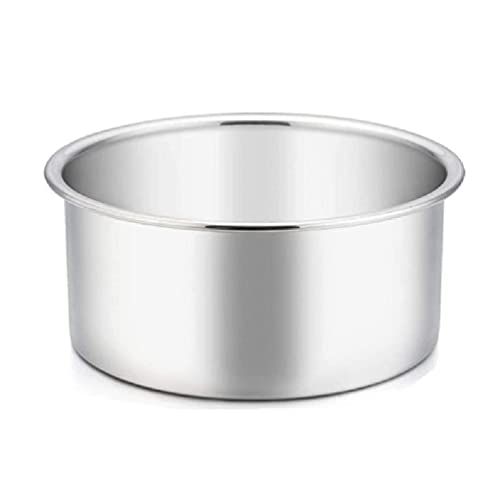 Juego de bandejas redondas de aluminio para repostería con base extraíble, modelo de forma de pastel para hornear fiestas de cumpleaños y bandeja redonda de Navidad de 14 pulgadas