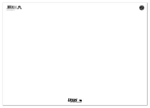 Ursus 036446000 Schreibunterlage, blanko, 52.5 x 37.5 cm, 70 g/qm, 40 Blatt
