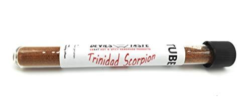 CHILI TUBE Trinidad Scorpion Chili Pulver - extrem scharf 10 gr RED DEVILS TASTE (Trinidad Scorpion)