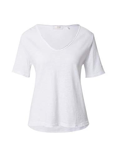 rich&royal Damen Heavy Jersey T-Shirt, Weiß (White 100), Medium (Herstellergröße: M)