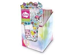 BINNEY & SMITH Crayola creations album sticker Emoji Scuola Cartoleria, meerkleurig, 63652622501