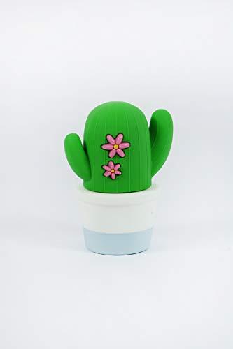 Mojipower externe accu voor mobiele telefoon, powerbank 2600 mAh, grappig, kleurrijk, ontwerp cactus, plant