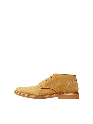 SELECTED HOMME Herren Chukka Boots Sand 44